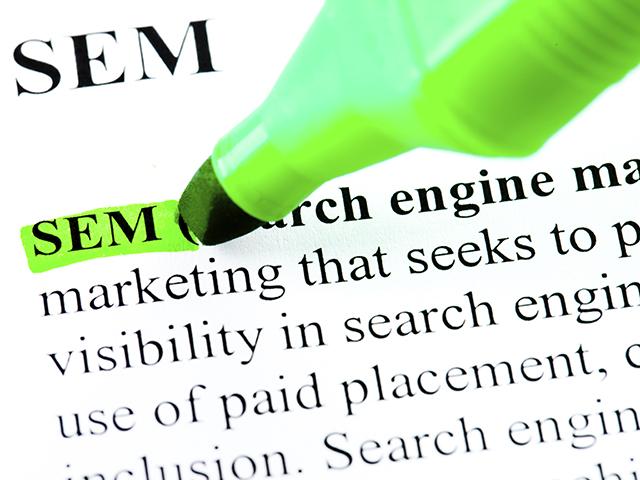 Søgemaskinemarkedsføring (SEM)