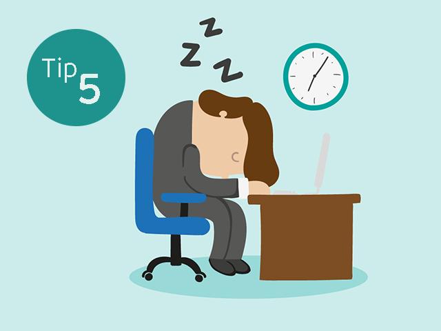 8 tips til en bedre søvn