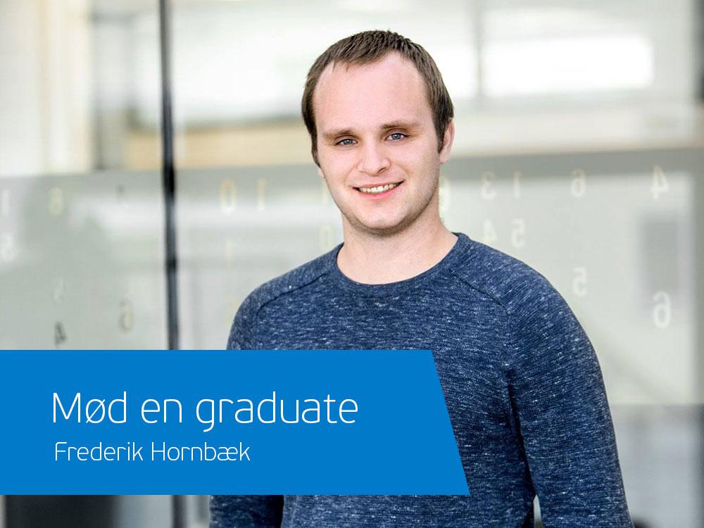 Frederik er graduate i Visma