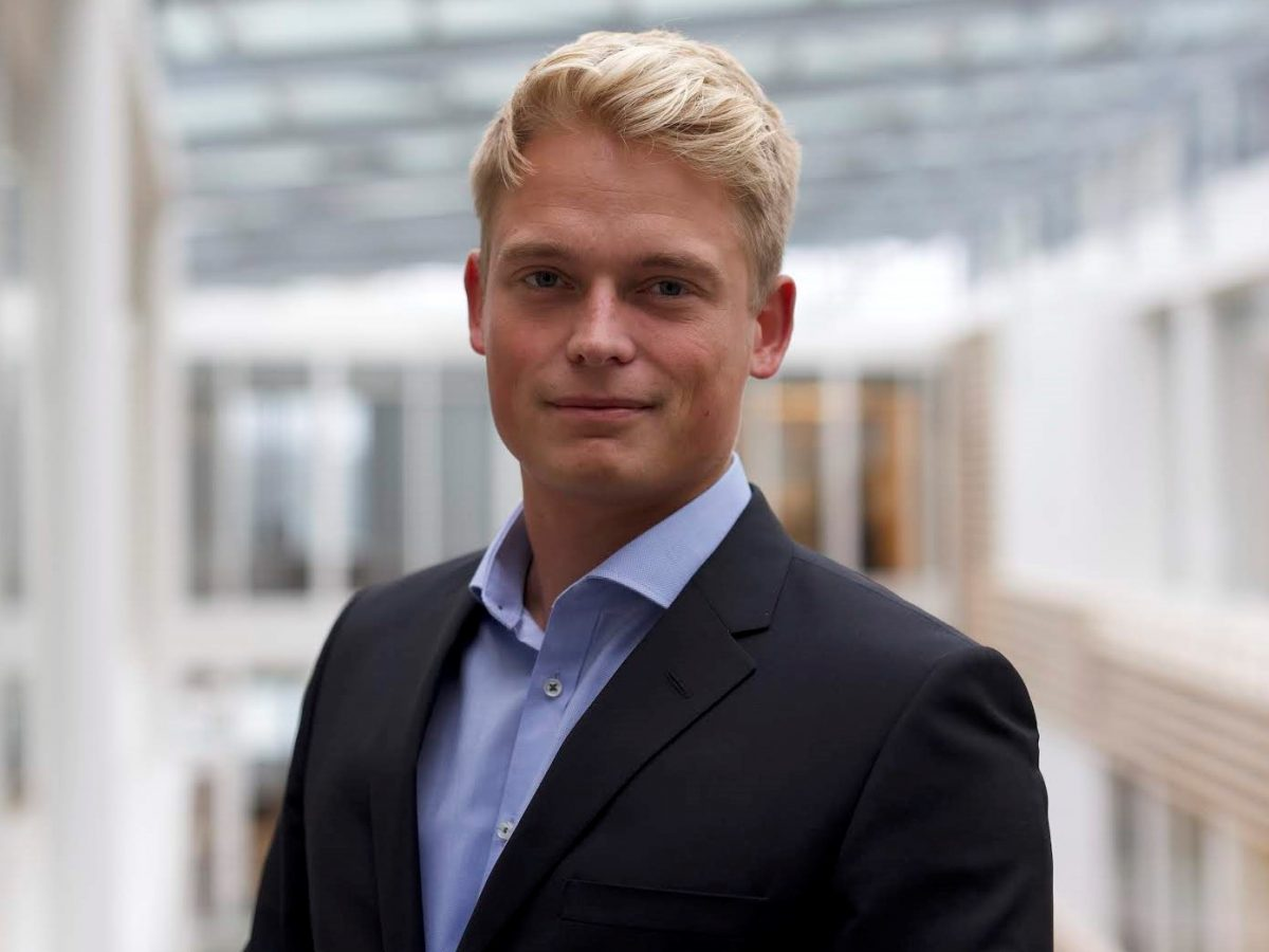 Christian Harder, Management Trainee